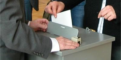 Stimmabgabe bei den Wahlen im Landkreis Miltenberg
